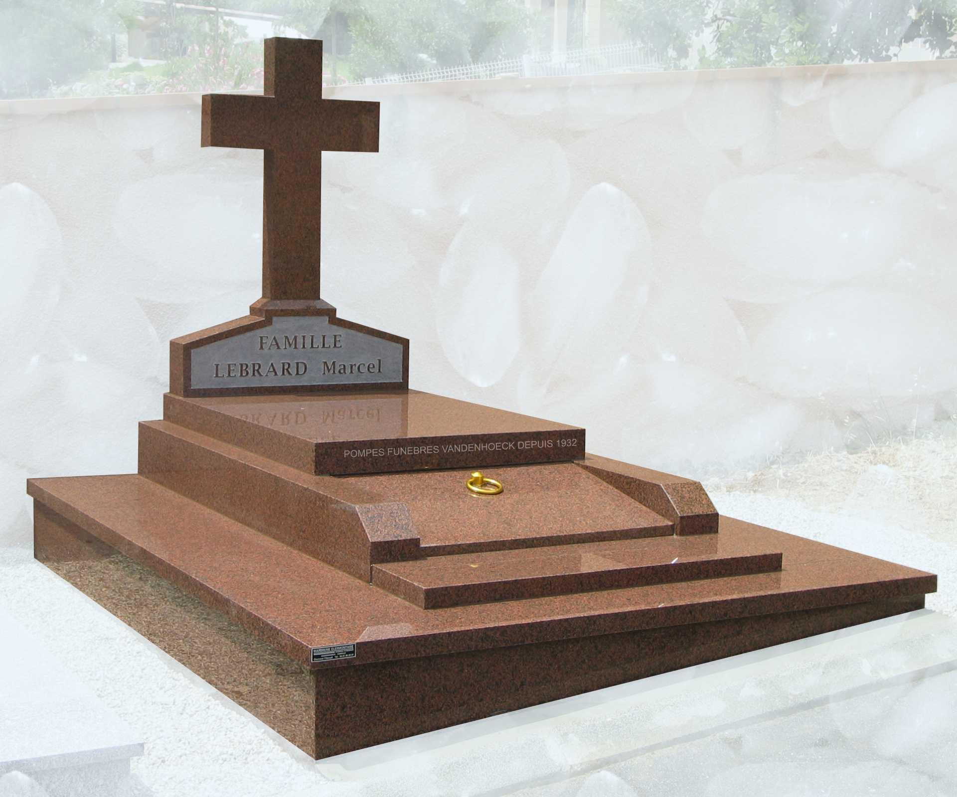 monument funéraire en granit BALMORAL PETITS ELEMENTS