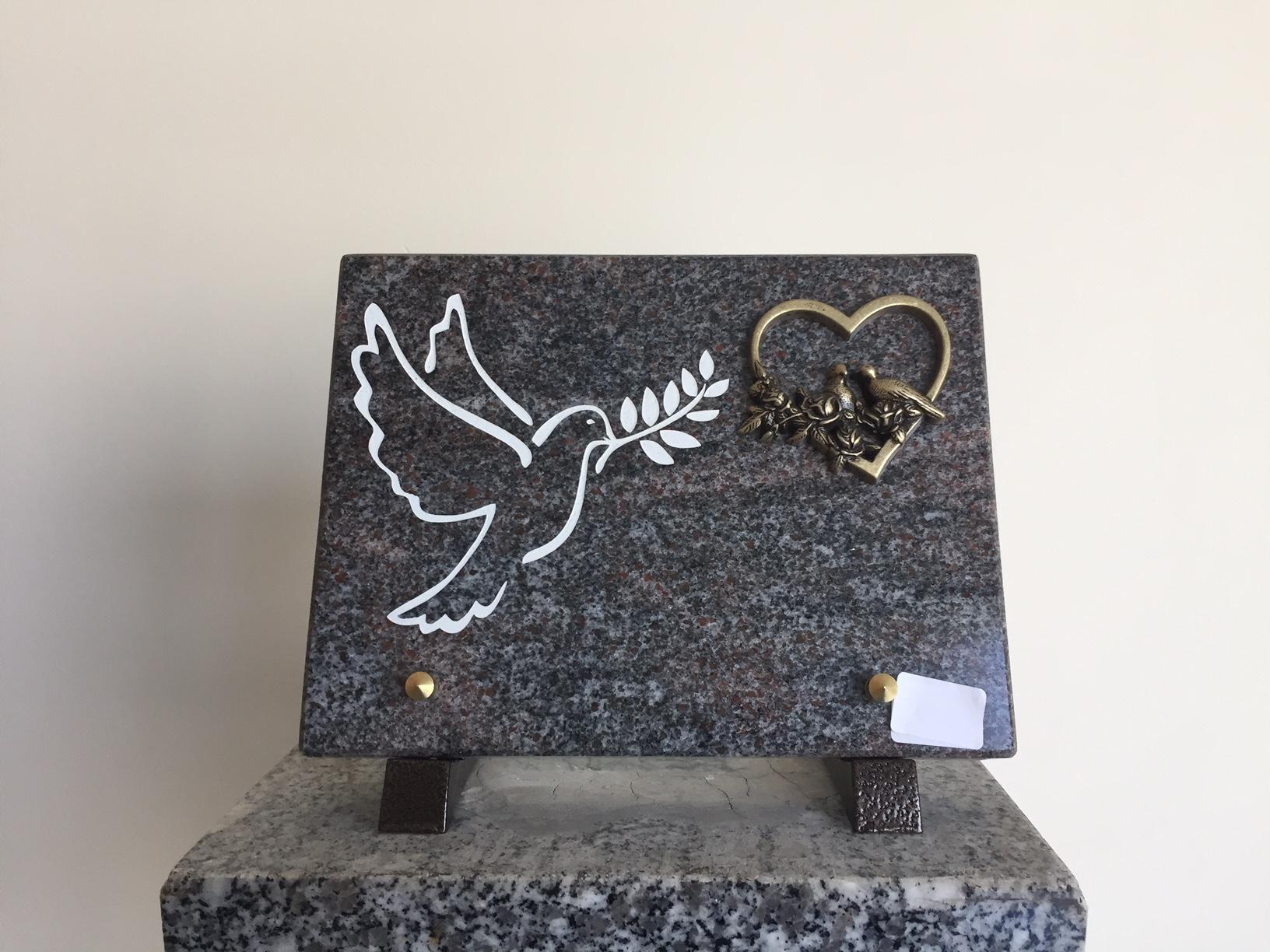 pompe funebre plaque
